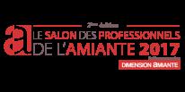 logo salon de l'amiante société Bâtexpert spécialisée dans la prévention des risques professionnels