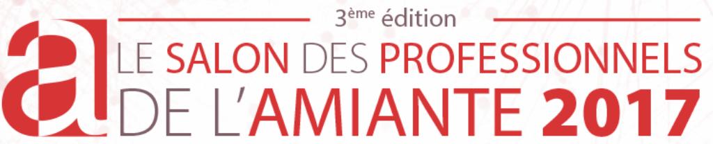 B texpert logo salon des professionnels de l 39 amiante 2017 for Salon professionnels